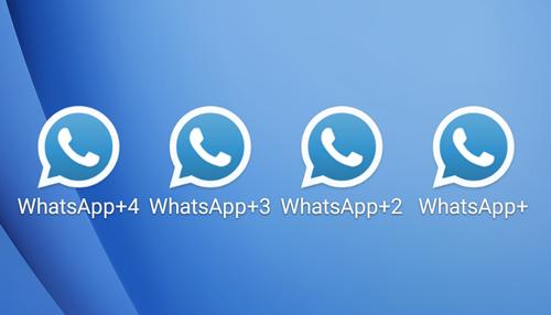صورة بعد تثبيت واتس اب بلس +Whatsapp اخفاء الظهور اخر تحديث الازرق Whatsapp Plus